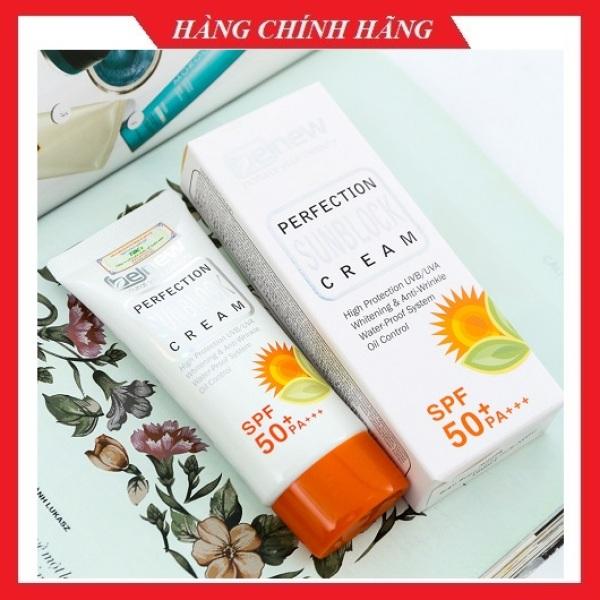 Kem Chống Nắng Dành Cho Da Dầu Và Da Mụn Benew Sunblock Cream Spf 50pa+++Hàn quốc 50ml/Hộp