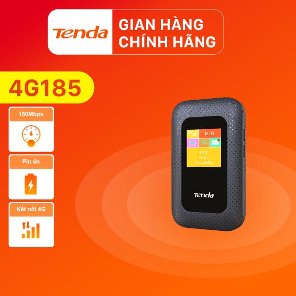 Bảng giá [Hàng mới về]Bộ phát Wifi di động Tenda 4G LTE 4G185 - Hãng phân phối chính thức Phong Vũ