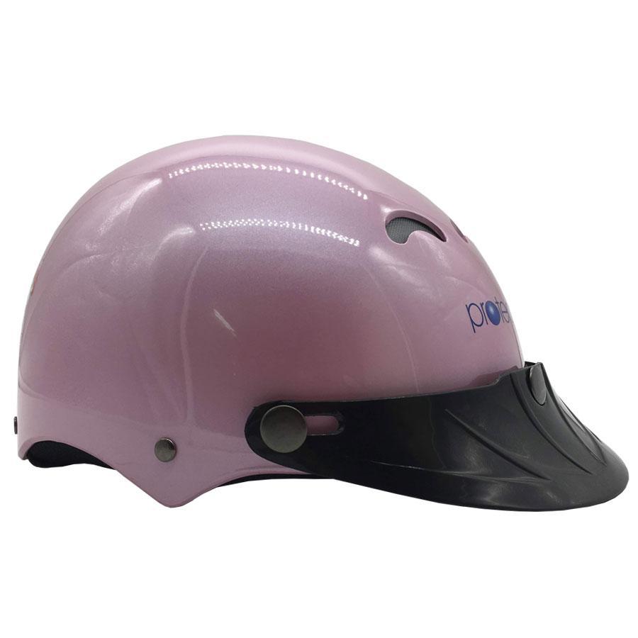 Giá bán Mũ Bảo Hiểm Trẻ Em 1/2 Đầu Protec Kitty Hồng - Họa Tiết Công Chúa