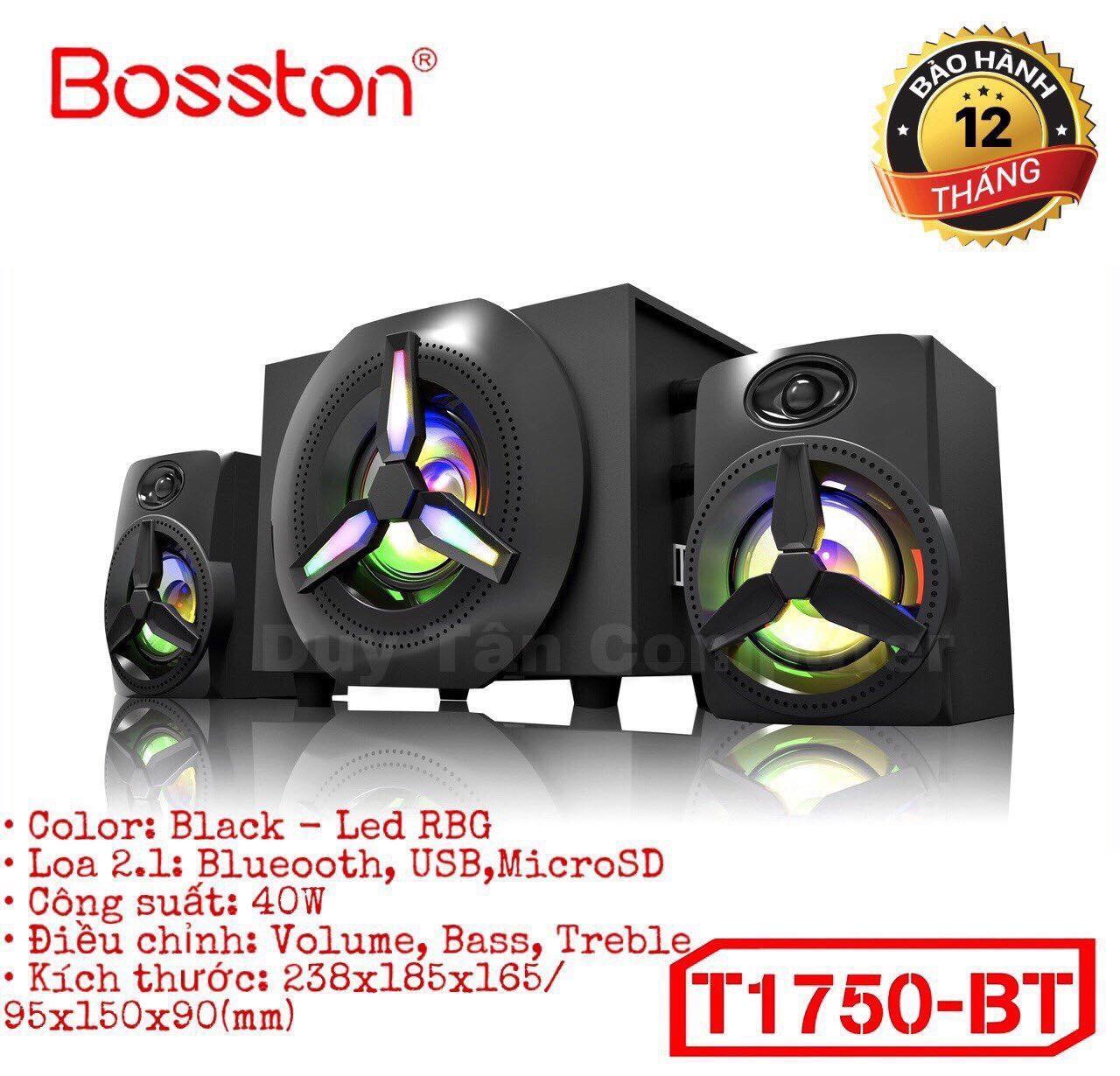 Bảng giá Loa Vi Tính 2.1 Bluetooth BOSSTON T1750-BT Led RGB Phong Vũ