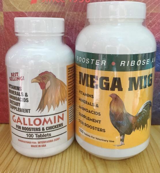 Combo Gallomin + Mega Mig