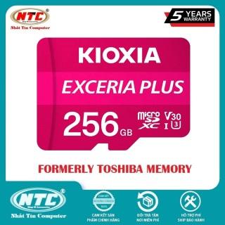 [HCM]Thẻ nhớ MicroSDXC Kioxia Exceria Plus 256GB U3 4K V30 A1 R100MB s W85MB s (Tím) - Nhất Tín Computer thumbnail