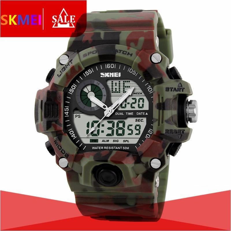 SKMEI 1029 Men Sports Watches Skmei LED Digital Watch Fashion Brand Outdoor Waterproof Quartz Watch Man