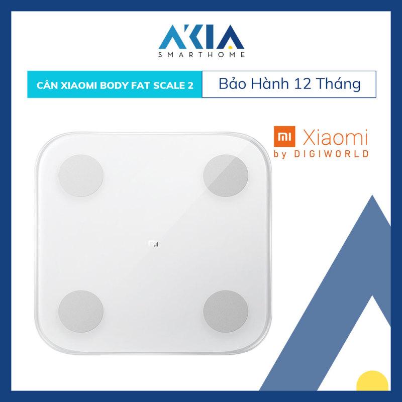 Cân Sức Khỏe Điện Tử Thông Minh Xiaomi Millet Body Fat Scales 2 - Hàng Chính Hãng Digiworld