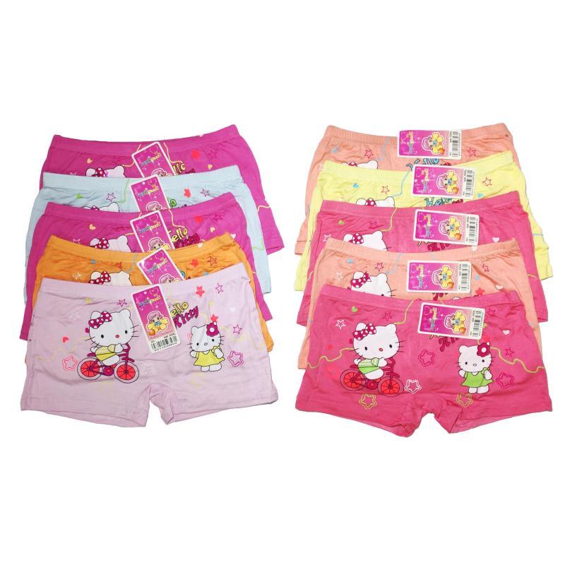 Nơi bán Sét 10 quần đùi in hình Mèo dễ thương cực đẹp cho bé gái - màu ngẫu nhiên