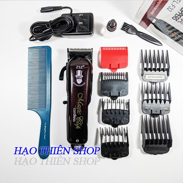 Tông đơ lưỡi kép ZSZ F32 Magic Clip [ Tặng kèm một lược cắt tóc nam 113 BeuyPro Comb ]