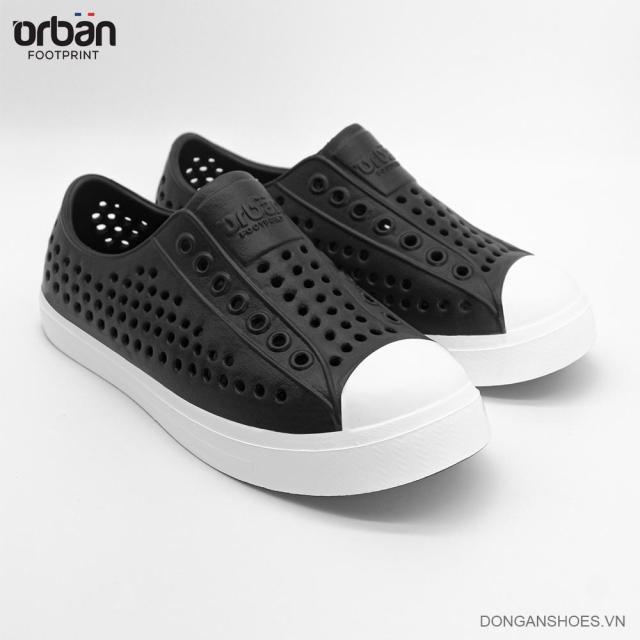 Giày thông hơi cao cấp Urban Footpritn EVA fylon D2001 cho bé màu đen trắng giá rẻ
