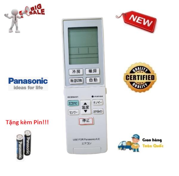 Remote Điều khiển điều hòa Panasonic hàng nội địa, nhật bãi - Hàng mới 100% Tặng kèm Pin