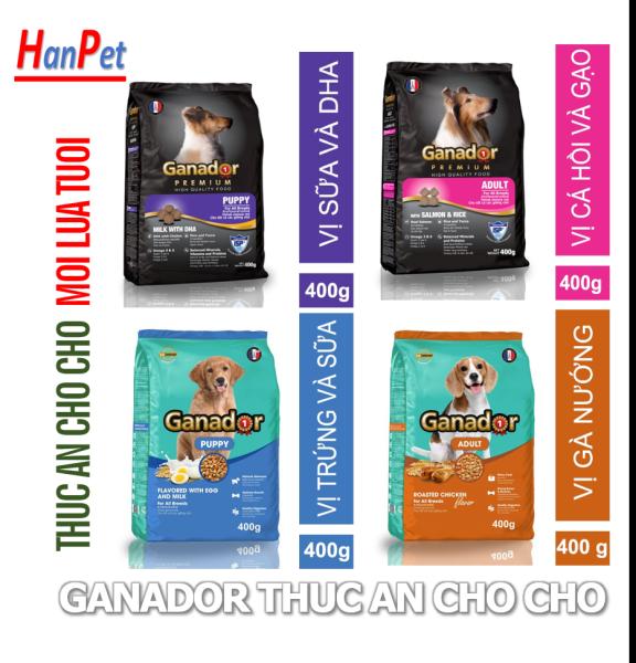 HN- (5 loại)  GANADOR Thức ăn chó dạng hạt cao cấp / thức ăn khô cho chó giá rẻ