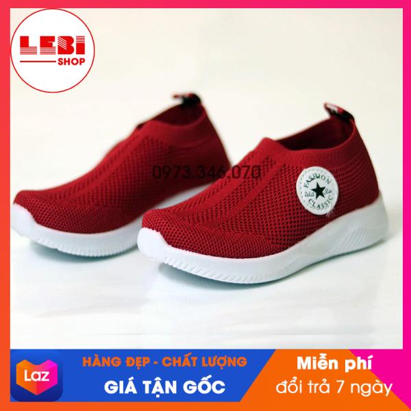 [HOT TREND 2020] Giày thể thao trẻ em Lebi Shop - Giày chun 7166 - {HÀNG ĐẸP, GIÁ GỐC} Giày thể thao cho bé trai, giày đèn phát sáng, giày cho trẻ em: 1 tuổi, 2 tuổi, 3 tuổi, 4 tuổi