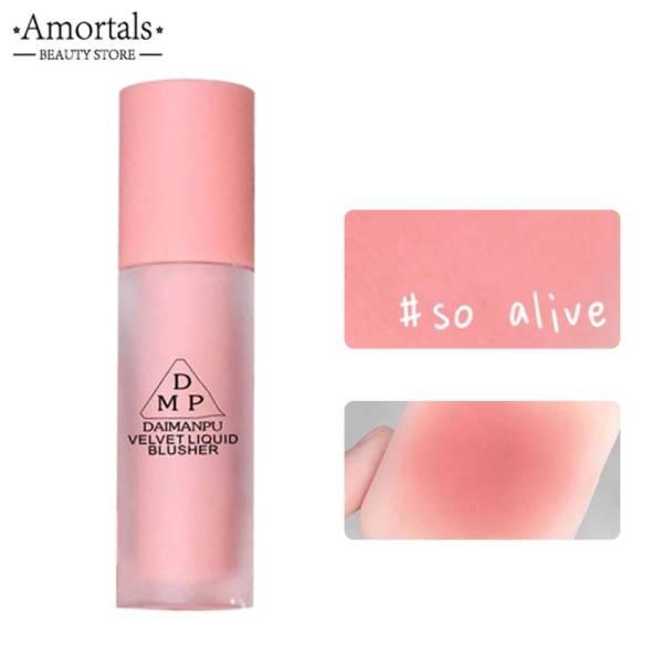 Má hồng dạng lỏng màu ngọt ngào tự nhiên DAIMANPU Vienna Rose Matte Nhung Blush - INTL