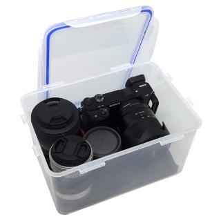 Hộp chống ẩm cho máy ảnh, máy quay phim - dung tích 5 lít (tặng mút xốp lót hộp) - 2TCAMERA-Q01109 thumbnail