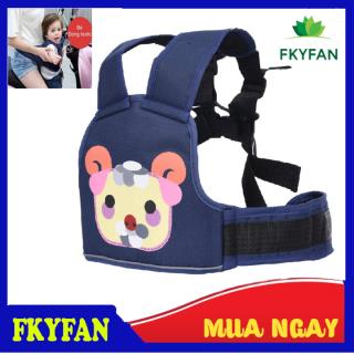 Đai đi xe máy an toàn cho bé Dây đai bằng chất liệu vải dù được thiết kế tiện lợi thumbnail