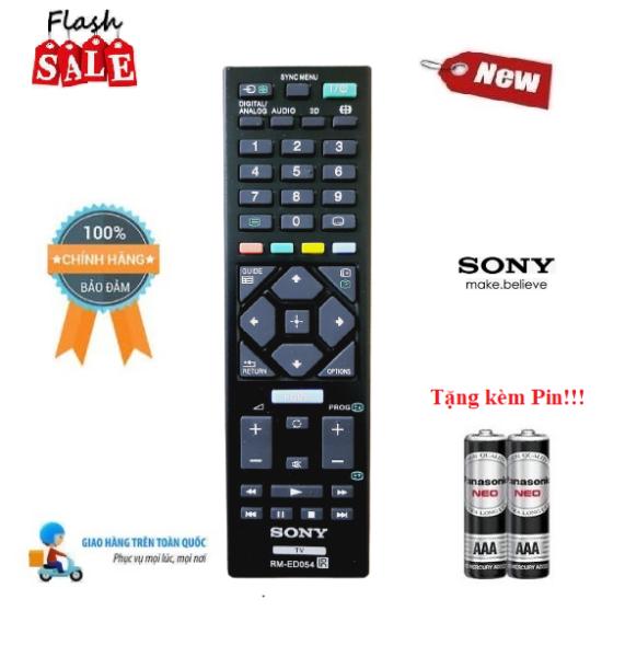 Bảng giá Remote Điều khiển tivi Sony RM-ED054 LED/LCD/Smart TV- Hàng mới chính hãng 100% Tặng kèm Pin!!!