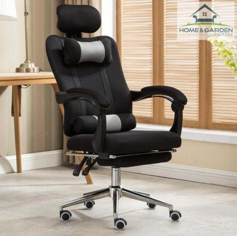 Ghế văn phòng cao cấp đa chức năng nhập khẩu 100% ( Màu đen ) - Home and Garden giá rẻ