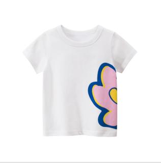 [ VIDEO ] F141 Áo thun bé gái 27KIDS chất liệu 100% cotton in hình FLOWER cho bé từ 10-33kg (2 tuổi -10 tuổi ) an toàn mềm mịn thích hợp cho bé đi học đi chơi thumbnail