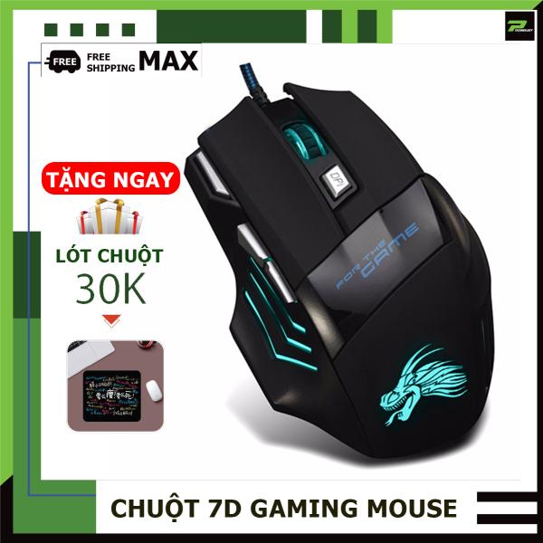 Bảng giá Chuột Máy Tính Chuột Chuyên Chơi Game 7D Gaming Mouse LED Sáng Đẳng Cấp PT Technology Phong Vũ