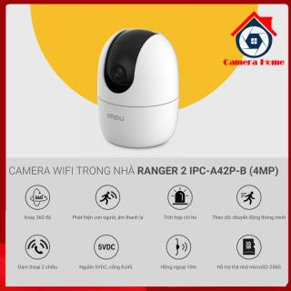 [MẪU MỚI 2021] Camera Wifi IPC-A42P IMOU 4.0 Megapixel Độ Nét Cao IPC- A42P Công Ngệ AI - Tích Hợp Báo Trộm, Xoay 360 Độ Và Âm Thanh 2 Chiều - Camera Home thumbnail
