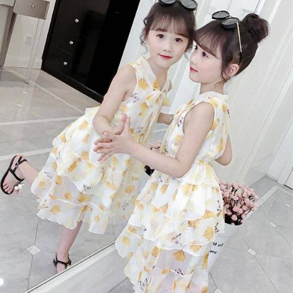 Giá bán Đầm maxi dễ thương cho bé gái từ 3 đến 13 tuổi - VA11