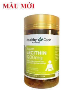 Mầm Đậu Nành Healthy Care Super Lecithin 1200mg Lọ 100 Viên thumbnail