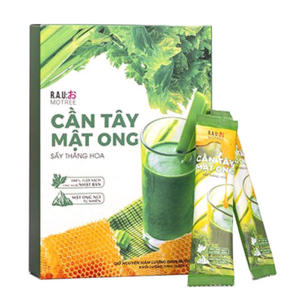 Bột cần tây mật ong Motree🎁Tặng Bình🎁 cần tây mật ong Motree giảm cân, giảm béo dáng đẹp, eo thon, thanh lọc cơ thể cao cấp