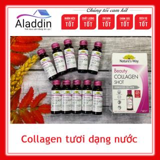 Collagen tươi dạng nước Nature s Way Beauty Collagen Shot 50ml x10 ống ( hàng Úc chính hãng) thumbnail