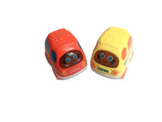 Xe đồ chơi nhỏ chạy quán tính cho bé phong cách hoạt hình dễ thương đáng yêu. thumbnail