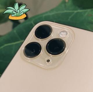 Cụm Kính cường lực Camera Full Viền Dành cho iPhone 11 , iPhone 11 pro , iPhone 11 pro max 12 pro max thumbnail