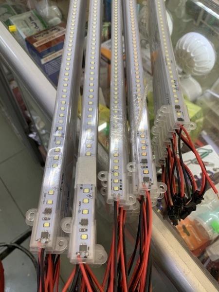 Đèn Led thanh 220V. KT: 30cm, 50cm, 60cm, 1m, 1m2 Ánh sáng: Trắng Hoặc Vàng