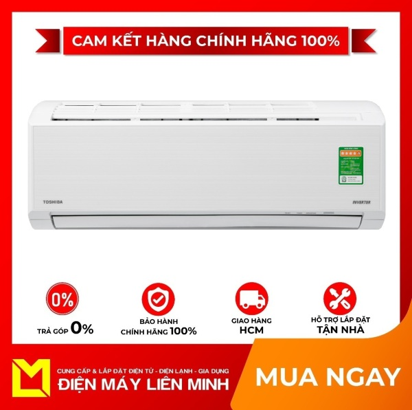 Máy lạnh Toshiba Inverter 1 HP RAS-H10D2KCVG-V Mới 2020 - Tiện ích:Hẹn giờ tắt, Chế độ chỉ sử dụng quạt - không làm lạnh, Chức năng hút ẩm, Làm lạnh nhanh tức thì, Tự khởi động lại khi có điện, Chức năng tự làm sạch