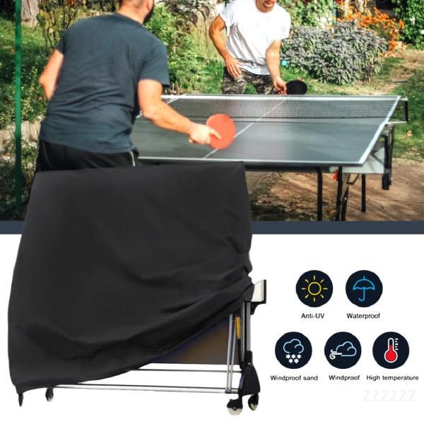 Bảng giá Bình Ping Ping Cover Cover Lưu trữ Đen Chống nước Chống bụi Chống bụi Bàn bóng bàn Vỏ đồ nội thất 165x70x185cm Oa4cljex