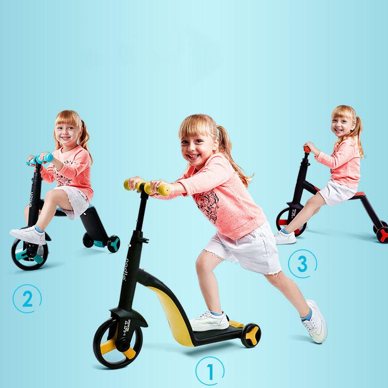 Mua Xe Trượt Scooter Trẻ Em Đa Năng Nadle 3 Trong 1 Vừa Làm Xe Đạp, Xe Chòi Chân, Xe Scooter,Cho Bé Từ 2 Tuổi Trở Lên, Mới Siêu Bền, Khung Xe Chắc Chắn, Vật Liệu An Toàn, Điều Chỉnh Được Tay Cầm, Tiện Lợi
