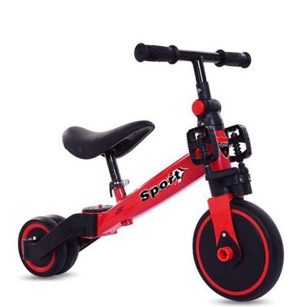 Giá bán Xe chòi chân thăng bằng HAPPYBABY kết hợp xe đạp cho bé (Vàng-Trắng-Đỏ)
