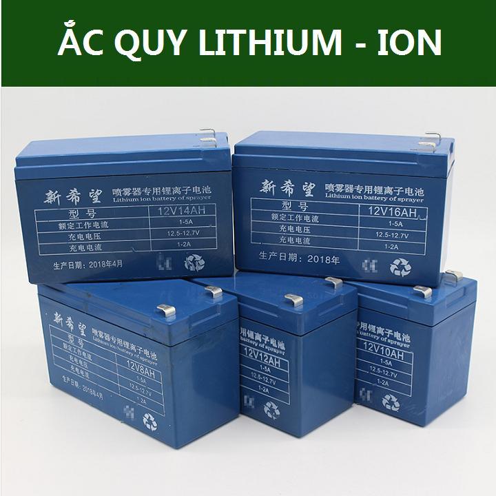Bình Ắc quy Lithium - Ion 12V - 12AH