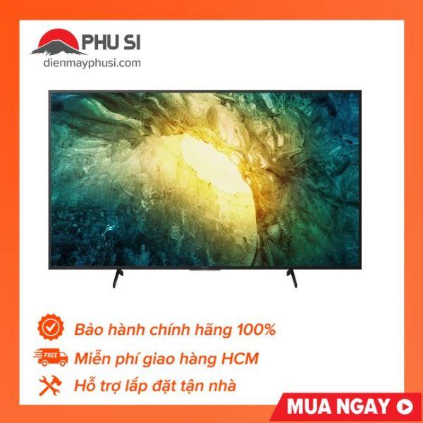 Bảng giá [Trả góp 0%]Android tivi Sony 4K 65 inch KD-65X7500H - 65X7500H phần cạnh viền này cũng được thiết kế khá mỏng mang lại sự hiện đại và tinh tế cần thiết cho thiết bị
