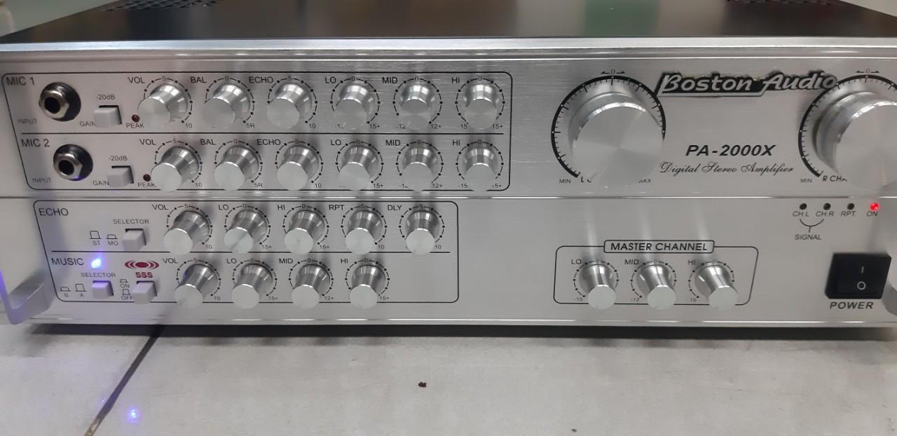 Giảm Giá Ưu Đãi Khi Mua Amply Bluetooth Karaoke Boston Audio PA -2000x Trắng