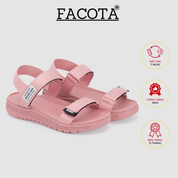 Giày sandal nữ Facota Angelica AN05 sandal học sinh nữ quai dù giá rẻ