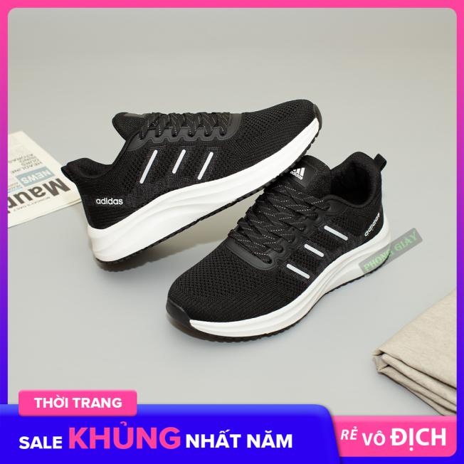 Giày sneaker nữ giày thể thao nữ D29 màu đen trắng giày chạy bộ nữ giày thời trang nữ giày ulzzang nữ giày tập gym nữ giá rẻ