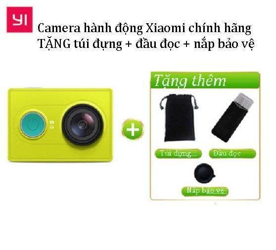 Camera hành động Xiaomi Yi Action Full HD 1080p TẶNG 3 PHỤ KIỆN