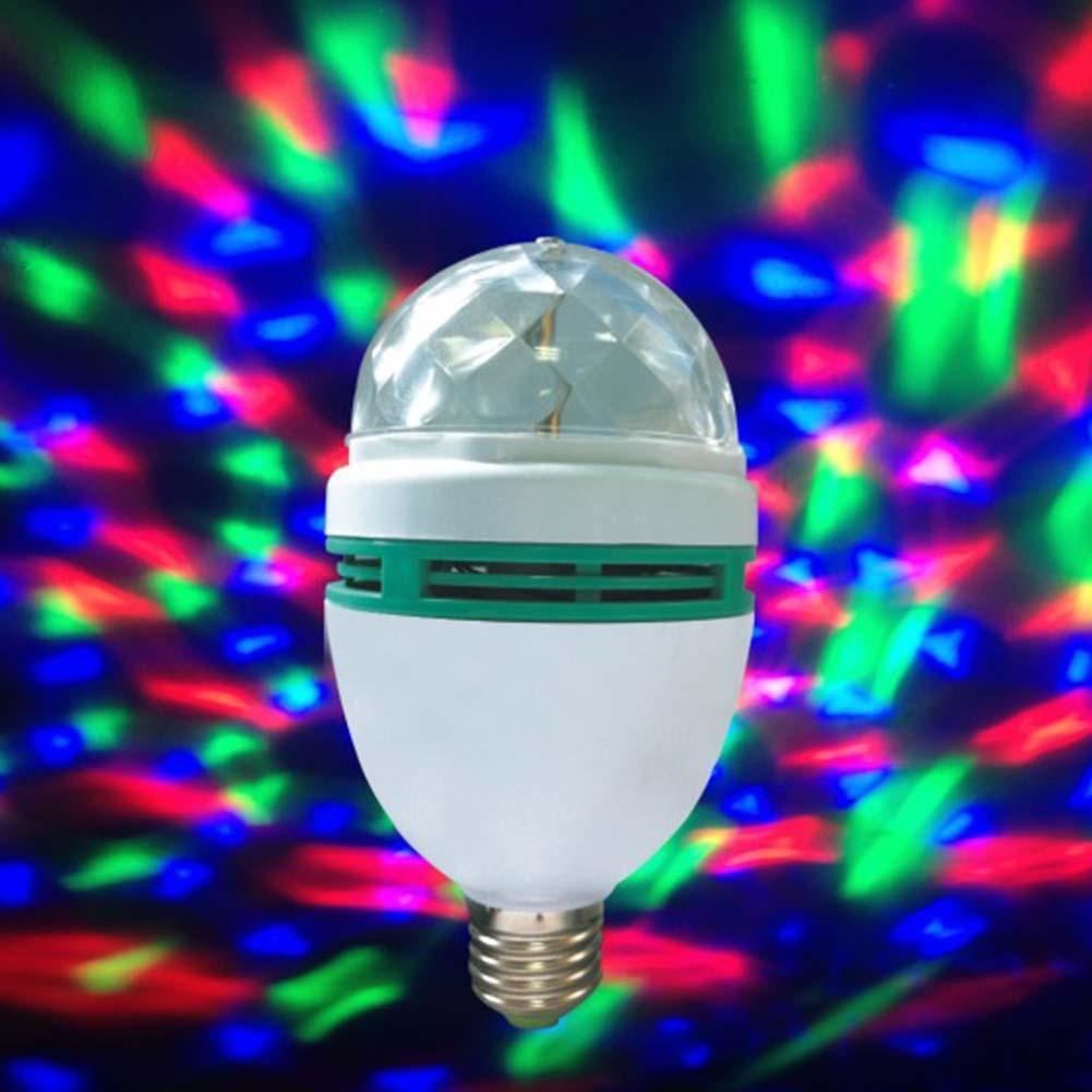 Đèn Led Sân Khấu, đèn Led Vũ Trường Xoay 7 Màu - Chợ Sỉ Đang Giảm Giá