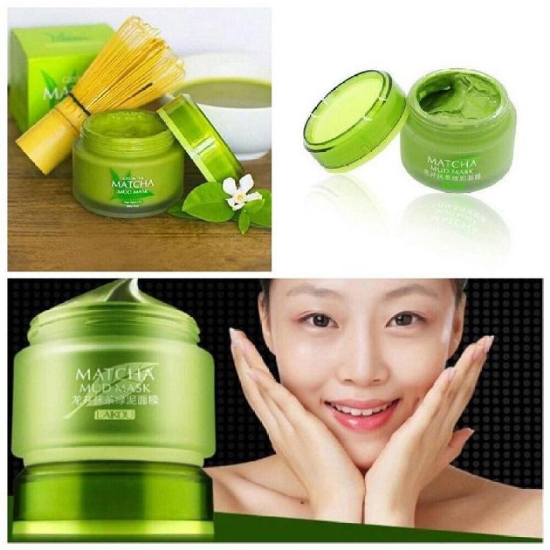 Mặt nạ bùn trà xanh Matcha Laikou Mud Mask nội địa Trung nhập khẩu