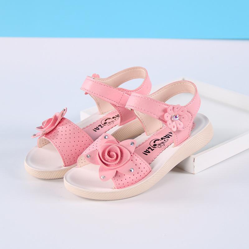 Giá bán sandal bé gái size 27-38 da mềm
