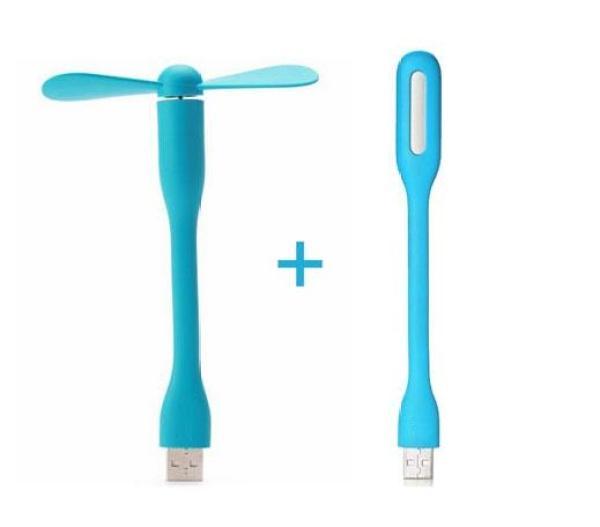 [COMBO cúp điện] Đèn Led USB + Quạt USB Mini siêu tiện dụng