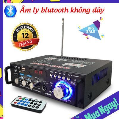 (Bảo Hành 1 Đổi 1) Amli karaoke gia đình, Amly Karaoke Bluetooth, Kết Nối Bluetooth, Tổng Công Suất 2 Kênh 600W, Tự Động Lọc Nhiễu, Hỗ Trợ Khe Cắm Thẻ Nhớ, Trang Bị Điều Khiển Từ Xa, Dễ Dàng Di Chuyển, Bảo Hành Lâu Dài. Nhật Bản