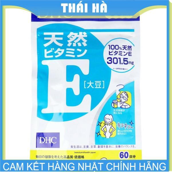 [HCM]Viên Uống DHC Vitamin E 60 Ngày 60 Viên Hỗ Trợ Đẹp Da Mịn Màng cao cấp