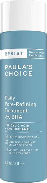 Tẩy tế bào chết thu nhỏ lỗ chân lông Paulas Choice RESIST Daily Pore-Refining Treatment 2% BHA 88ml cao cấp