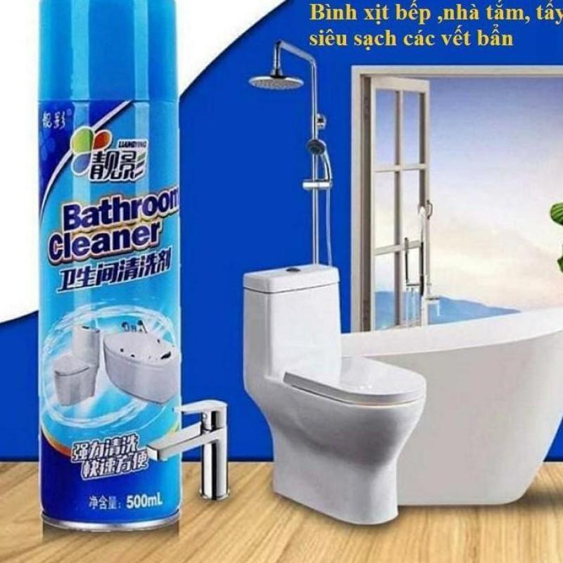 [ Siêu Hót ]Chai xịt tẩy đa năng Nhà tắm ,Bồn Cầu,Bathroom cleaner siêu sạch - 500ml