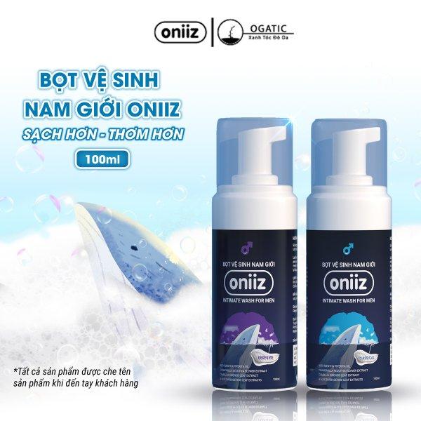 Bọt vệ sinh nam giới Oniiz - Dung dịch vệ sinh nam tạo bọt 100ml (  Công thức tạo bọt độc quyền ) giá rẻ