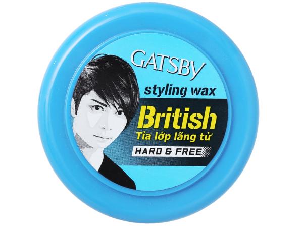 Sáp tạo kiểu tóc Gatsby Hard & Free tỉa lớp lãng tử 75g giá rẻ