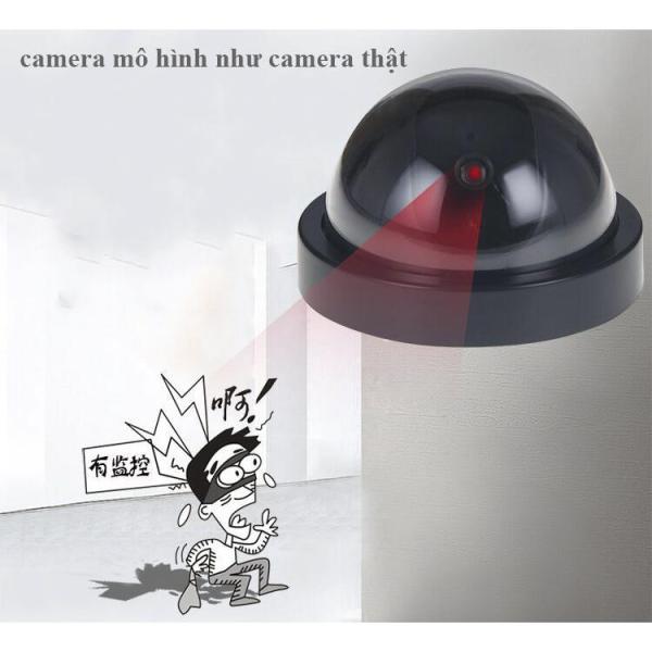 Mô hình Camera chống trộm có LED cảnh báo như camera thật
